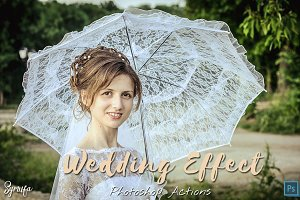100 Wedding Photoshop Actions Ver.2