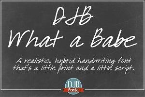 DJB What a Babe