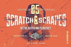 20 Scratch & Scrapes Textures -VES05