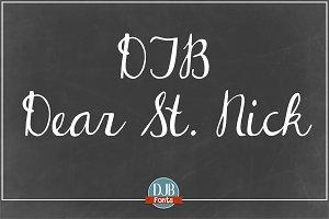 DJB Dear St. Nick
