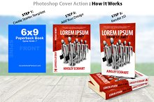 6x9 Paperback Book Mockup -PS Action