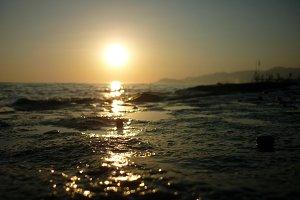 Marine sunset