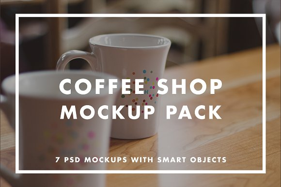 Download Coffee Shop Mockup Pack