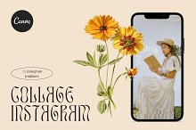 COLLAGE Instagram Template Kit Canva