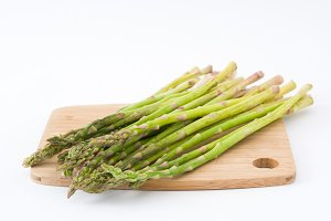 Asparagus. Isolated photo