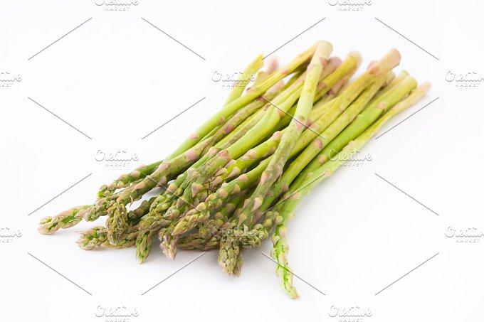Asparagus. Isolated photo - Food & Drink