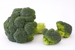 Broccoli. Isolated photo