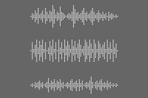 Vector sound wave set