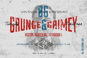 20 Grunge & Grimey Textures - VES06