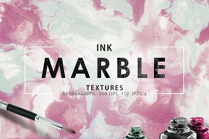 20%OFF 110 Marble Ink Paper Textures