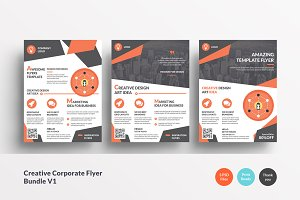 Creative Corporate Flyer Bundle V1