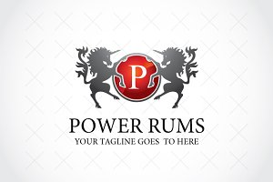 Power Rums Logo Template
