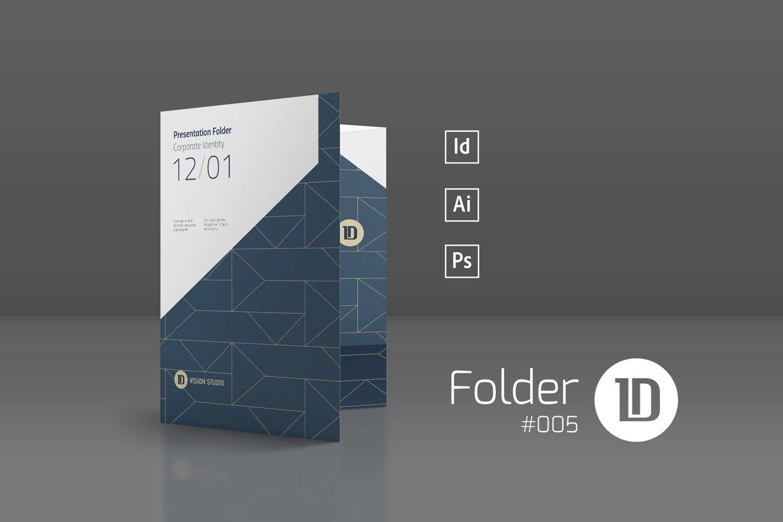 presentation folder template 005 stationery templates creative