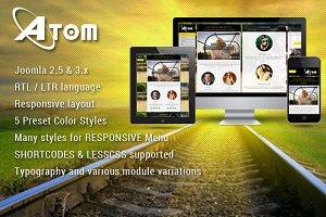 SJ Atom - Responsive K2 template