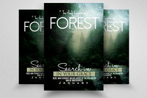 Forest Movie & Novel Poster Flyer
