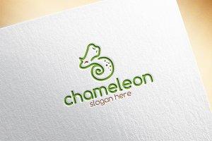 Chameleon Logo Template