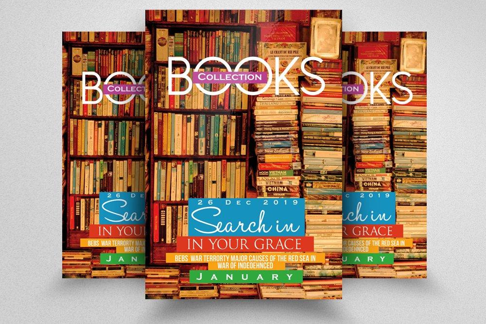 book store promotion flyer flyer templates creative market