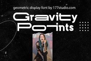 Gravity Points Font