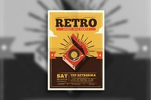 Retro Box Flyer