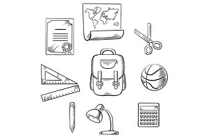 Education and school items