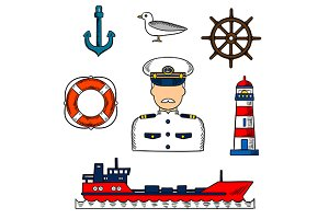 Sailor or captain profession