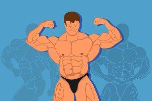 bodybuilding, fitness concept
