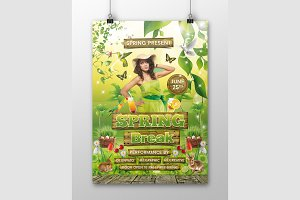 Spring Flyer Template 01