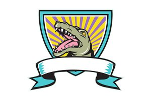 Alligator Snapping Crest Retro