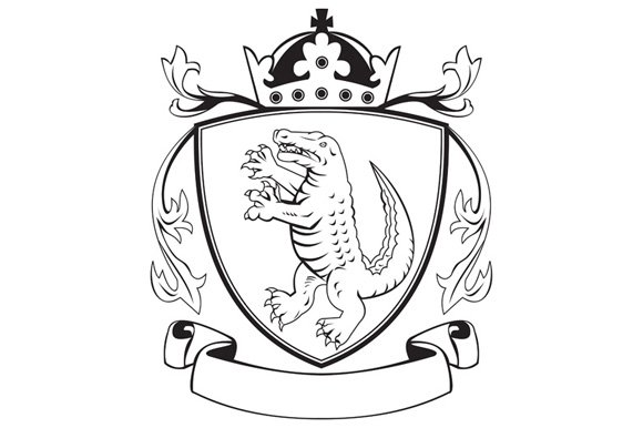 Coat Of Arms Template Decorate The Shield Shield Template Free – Coat of Arms Template