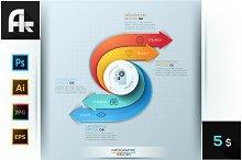Modern Infographic Creative Process