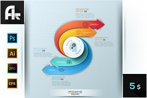 Modern Infographic Creative Process