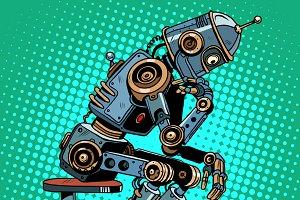 Robot thinker
