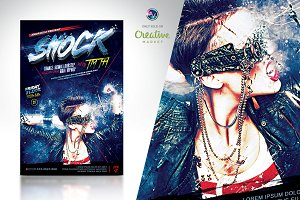 Shock Flyer Template