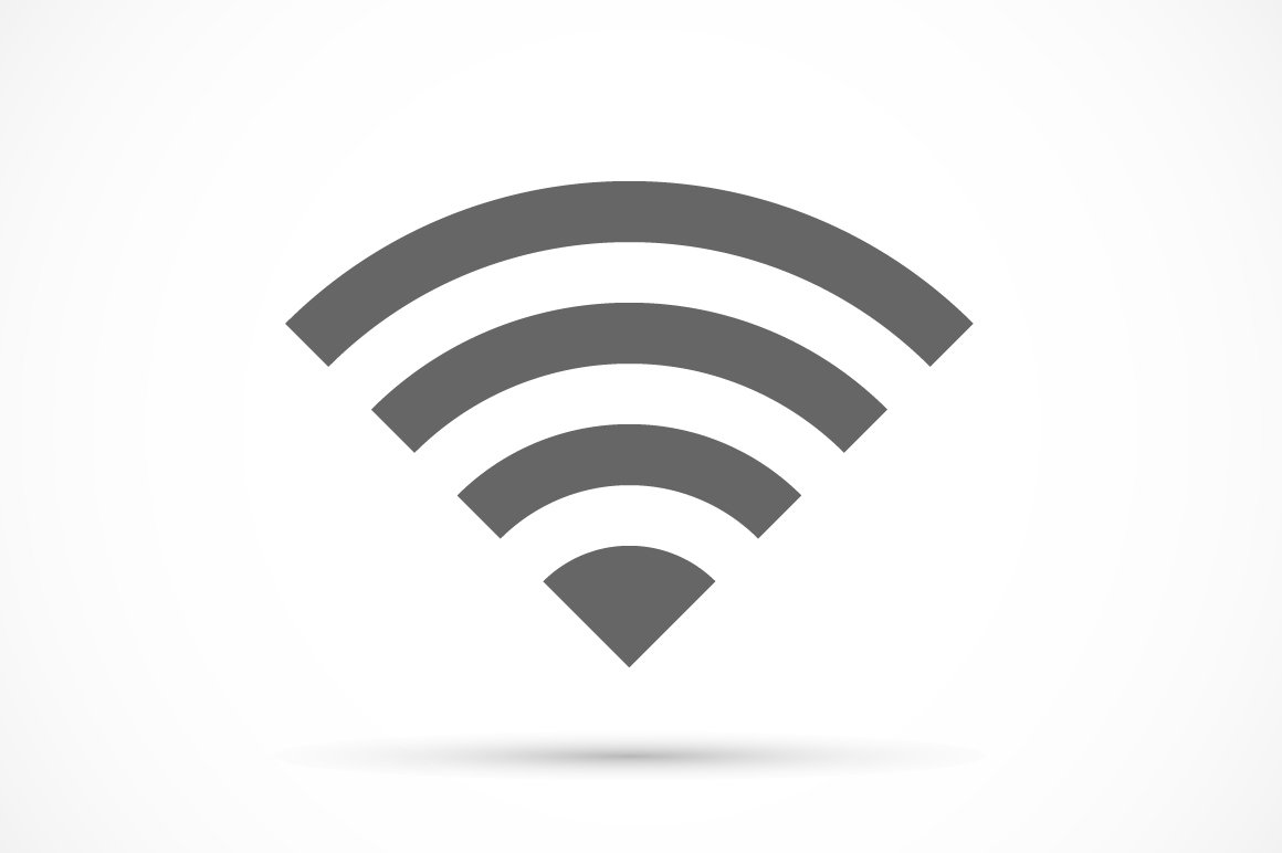 Wireless icon flat ~ Icons ~ Creative Market
