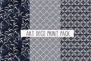 Art Deco Seamless Pattern Pack