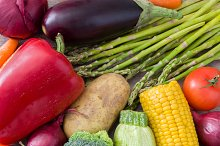 Various vegetables background