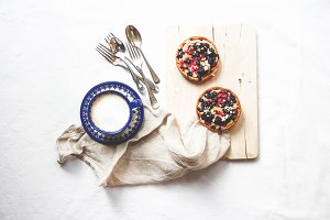 Coffee and Fruit Tartlets