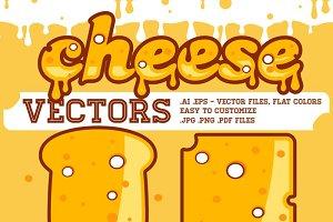Cheese vectors