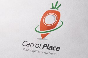 Carrot Place Logo Template
