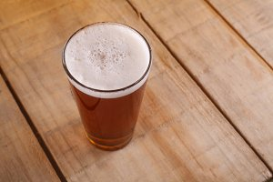 Shaker beer glass