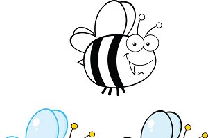 Cute Bee Collection - 3