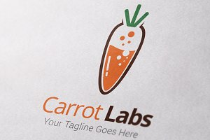 Carrot Labs Logo Template