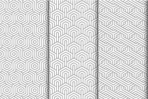 a seamless pattern set