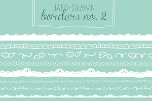 Hand-Drawn Borders No. 2