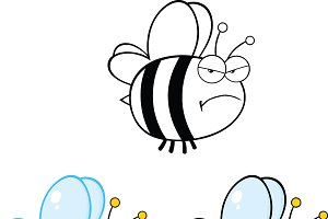 Cute Bee Collection - 2