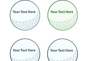 Golf Balls Collection - 1