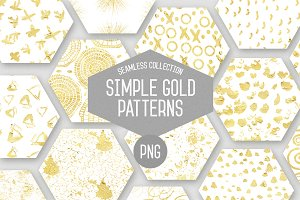 Simple Gold Patterns Vol.2