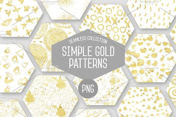 Simple Gold Patterns Vol.2 - Patterns