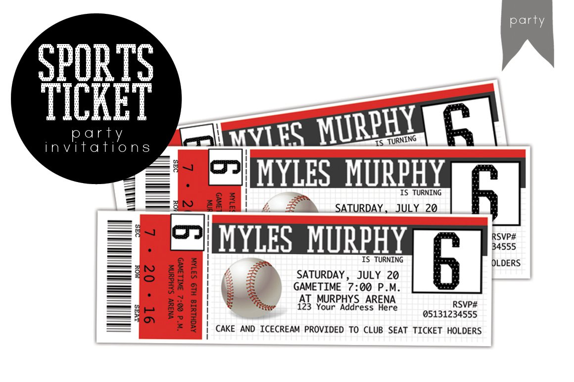 23 Sports Ticket Templates Download Ready-Made Samples