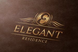Elegant Residence Logo Template